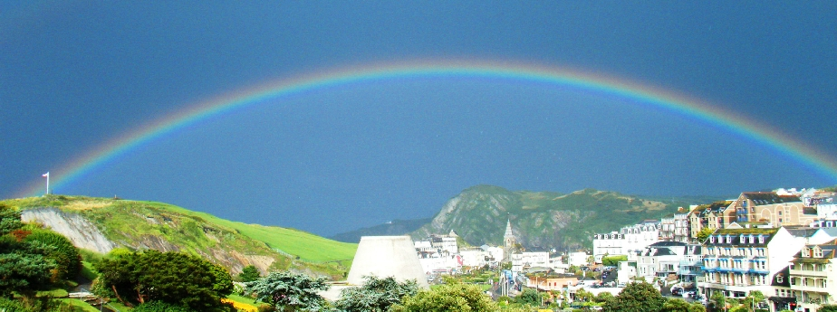 Ilfracombe Double Rainbow